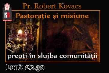 <span style='color:#B00000  ;font-size:14px;'>Pastorație și misiune</span> <br> Invitat Pr Claudiu Prunduș, Diviciorii Mari, Prot. Gherla</p>
