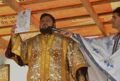 Resfintirea bisericii din Lesmir 7
