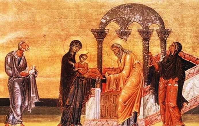 <span style='color:#B00000  ;font-size:14px;'>Pr. Ioan Bizău</span> <br> Întâmpinarea Domnului &#8211; Evanghelie și Liturghie</p>