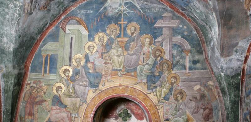 <span style='color:#B00000  ;font-size:14px;'>În lumina Taborului</span> <br> Cincizecimea în viziunea evangheliei după Ioan &#8211; P5</p>