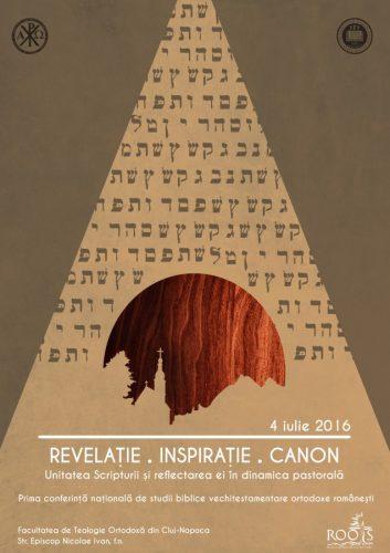 Afis Revelatie.Inspiratie.Canon A4