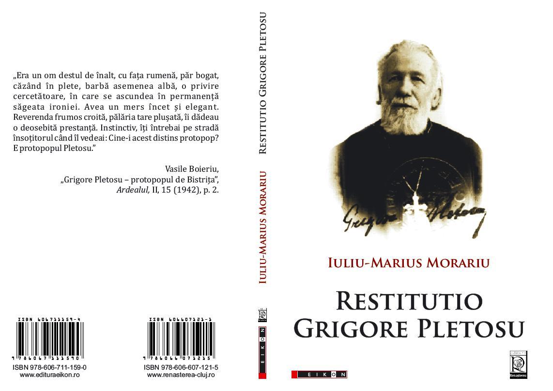 <span style='color:#B00000  ;font-size:14px;'>Oameni de ieri și de azi</span> <br> Grigore Pletosu &#8211; primul critic literar al lui George Coșbuc</p>