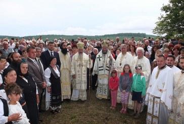 """Sute de credincioși din Țara Codrului, la hramul Mănăstirii """"Sfânta Maria Magdalena"""" din Oarța de Sus"""