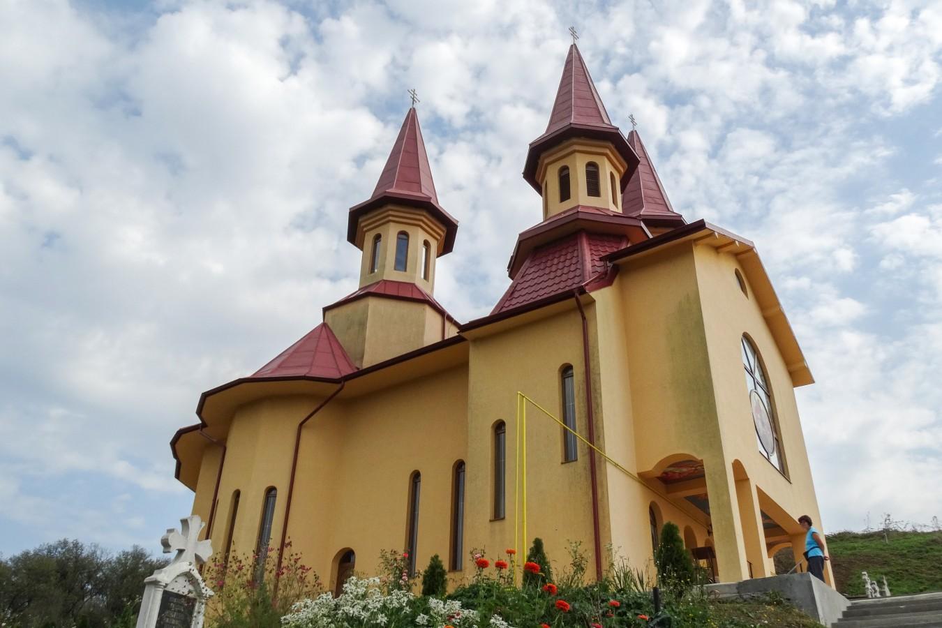 Sfințirea bisericii filiei Ghiolț, parohia Țaga, protopopiatul Gherla