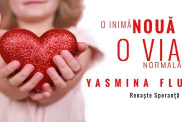 O inimă nouă, o viață normală, pentru Yasmina Fluieraș