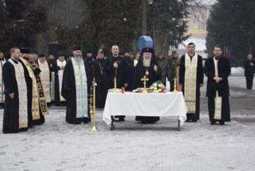 Noul preot militar al Garnizoanei Bistrița, instalat de Mitropolitul Clujului