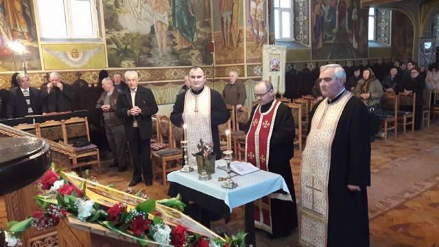 Seară duhovnicească la Parohia Sf. Arhangheli Mihail și Gavriil, din Mun. Dej