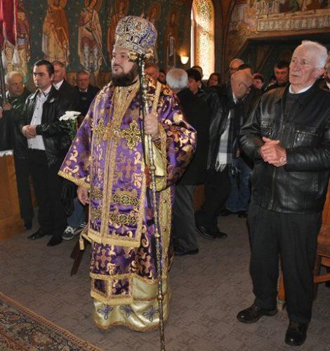 Liturghie Arhierească la Parohia Gâlgău Almașului, din Episcopia Sălajului