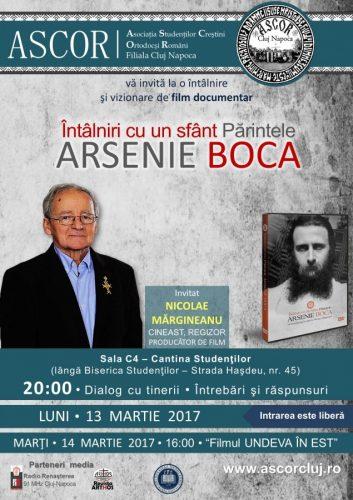Întâlnire A.S.C.O.R. cu regizorul Nicolae Mărgineanu şi vizionare de film documentar