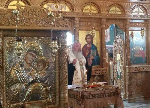 Părintele Flore Hâruța, condus pe ultimul drum