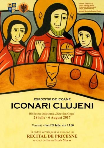 Artiștii plastici și meșterii populari, invitați să participe la Expoziția Iconari clujeni