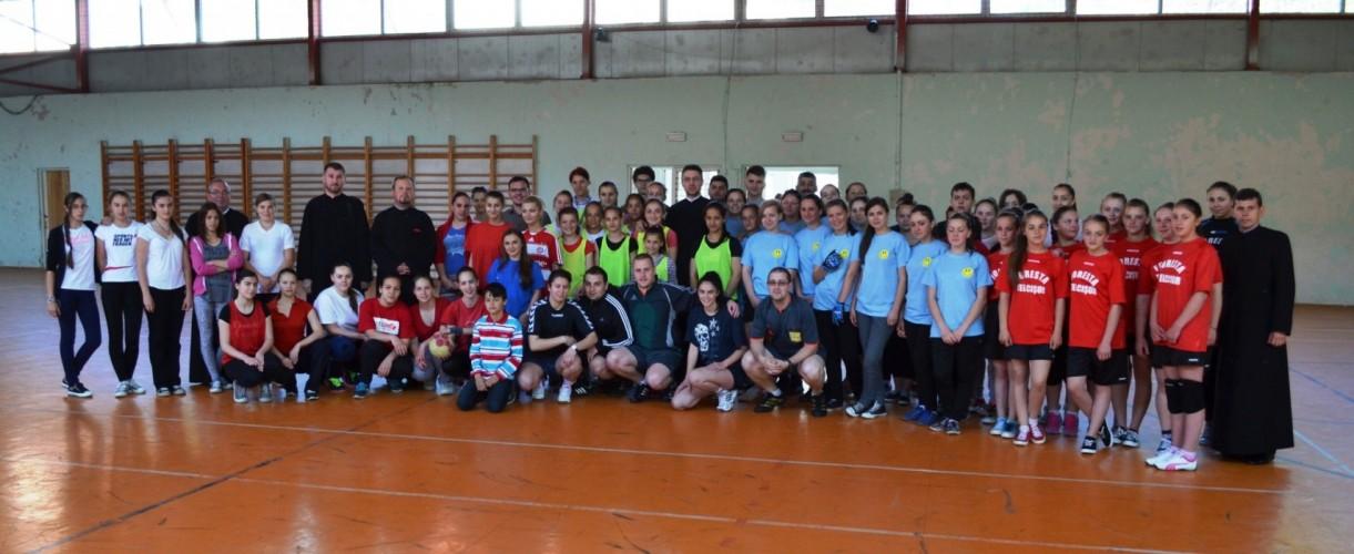 Campionat parohial de handbal feminin, la Năsăud
