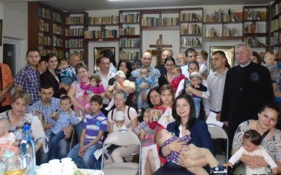 """Praznicul Rusaliilor, prilej de bucurie pentru comunitatea parohiei """"Nașterea Domnului"""" din Cluj-Napoca"""