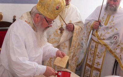 Biserica eroilor ucraineni din Sighetul Marmației, sfințită de ÎPS Andrei