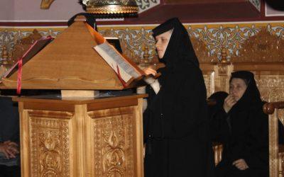Priveghere în cinstea Sfântului Ioan Rusu, la Mănăstirea Florești