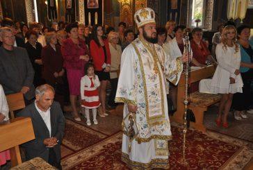 Liturghie Arhierească la parohia Șimleu Silvaniei