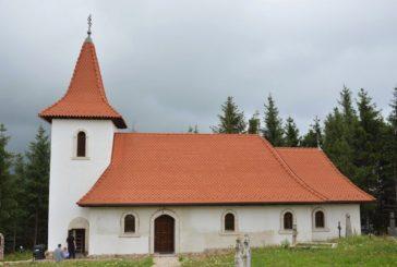 Resfințirea bisericii din Rogojel, județul Cluj