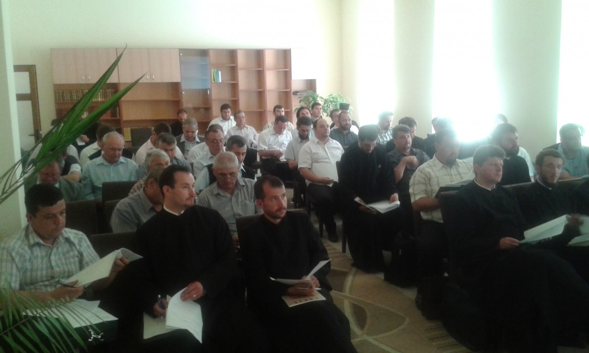 Ședința preoților din Protopopiatul Beclean
