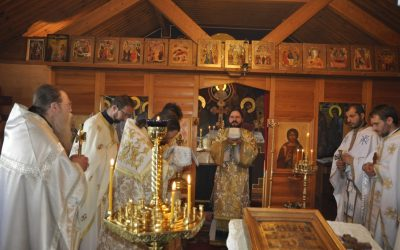 """Lunea Rusaliilor la Mănăstirea ortodoxă suedeză """"Sfânta Treime"""", din Bredared,Suedia"""