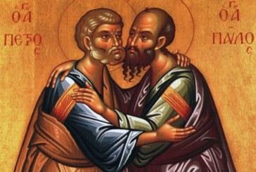 Agenda ierarhilor din Mitropolia Clujului de sărbătoarea Sfinţilor Apostoli Petru şi Pavel