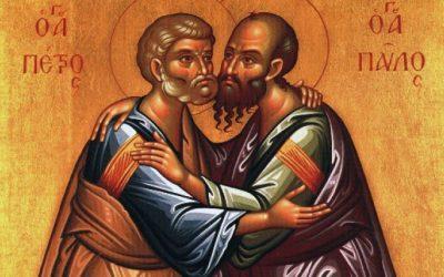 """Icoana Sfinților Petru și Pavel sau: """"Concordia apostolorum"""" (Armonia apostolică)"""