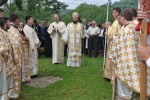 Resfințirea bisericii din parohia sălăjeană Fizeș