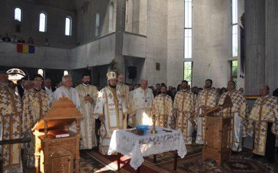 Noul locaș de cult al parohiei Recea, binecuvântat de Episcopul Sălajului