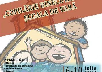"""Școala de vară """"Copilărie Binecuvântată"""", la a III-a ediție"""