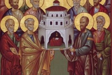 Agenda Ierarhilor din Mitropolia Clujului de Soborul Sfinților 12 Apostoli