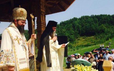 """Mii de credincioși la hramul Mănăstirii """"Sfântul Ilie"""" de la Nușeni"""