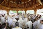 Mănăstirea Bârsana din Maramureș, loc de rugăciune pentru mii de pelerini
