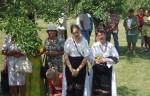 Sărbătoarea portului popular, în localitatea Gădălin