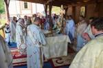 Pelerini din diferite zone ale țării s-au recules la Mănăstirea Băișoara de sărbătoarea hramului