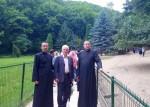 Credincioșii din Ilva Mică, în pelerinaj la Mănăstirea Prislop