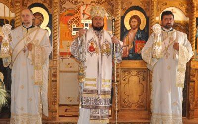 Liturghie arhierească în parohia sălăjeană Borza