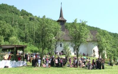 Mănăstirea Ștefan Vodă de la Vad, în sărbătoare