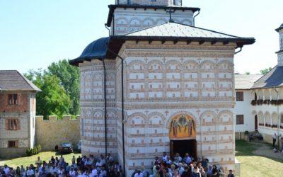 Comemorarea voievodului Mihai Viteazul la Mănăstirea Mihai Vodă din Turda