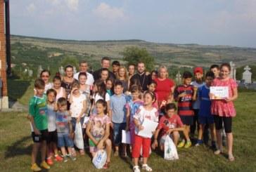 Copiii din Pintic au avut parte de o vacanță reușită, cu multe activități atractive