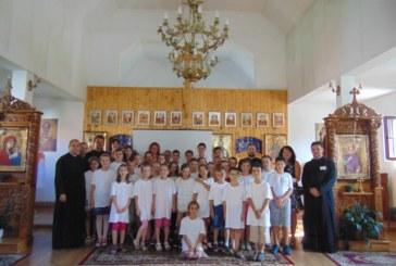 Școală de vară pentru copiii din localitatea Florești