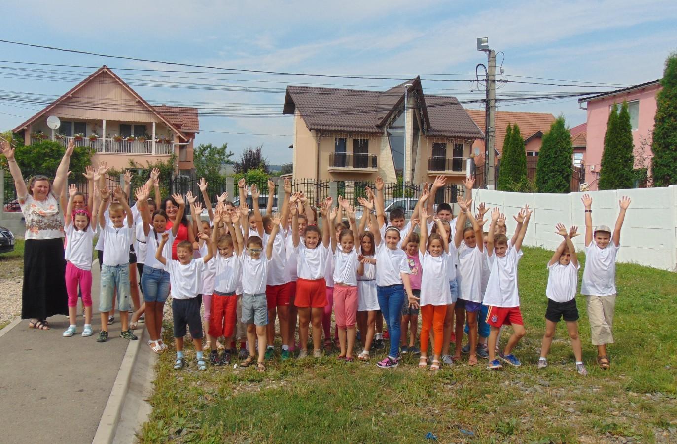 Prietenie și voie bună, la școală de vară din localitatea clujeană Florești