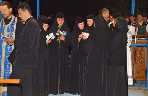 Slujba Prohodului Maicii Domnului, la Nicula