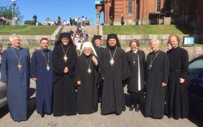 Vizită frățească în Finlanda a Preasfințitului Părinte Petroniu