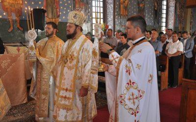 Liturghie Arhierească în localitatea Sălățig