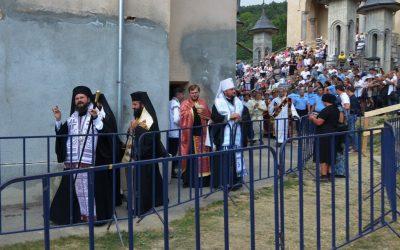 Slujba Vecerniei la Nicula, în sobor de ierarhi