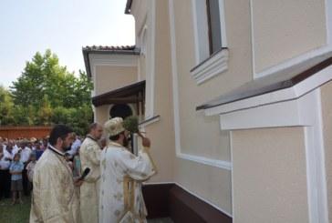Resfințirea bisericii din Parohia Nușfalău