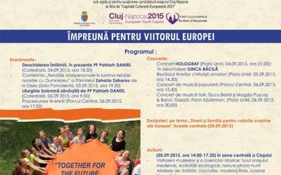 Întâlnirea Tinerilor Ortodocşi din Europa, la Cluj-Napoca