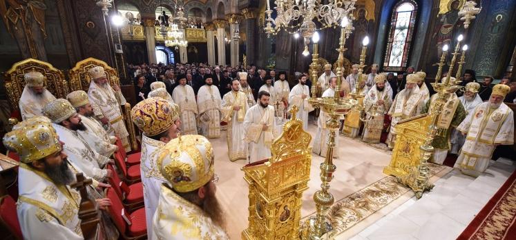 Te Deum la Catedrala Patriarhală, la 8 ani de la întronizarea Patriarhului Daniel