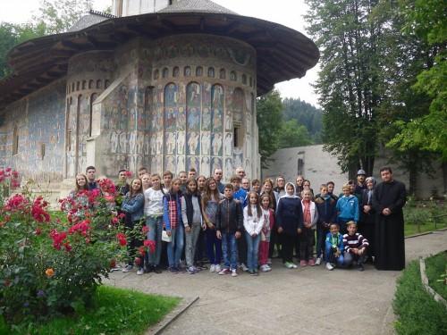 Credincioșii din Nepos în vizită la mănăstirile din Moldova