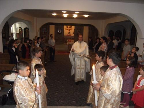"""Proiectul """"Liturghia și Școala duminicală pentru copii"""", reluat la parohia """"Schimbarea la Față"""""""