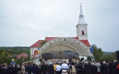 Biserica din Monor, resfințită de Mitropolitul Clujului